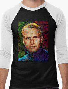 Paul Newman. Cool Cat On A Hot Tin Roof. Men's Baseball ¾ T-Shirt