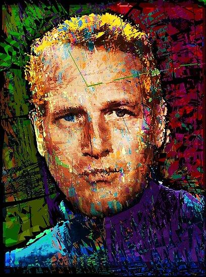 Paul Newman. Cool Cat On A Hot Tin Roof. by brett66