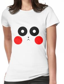 Pikachu Stare Womens Fitted T-Shirt