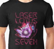 Laser Lotus Seven Unisex T-Shirt