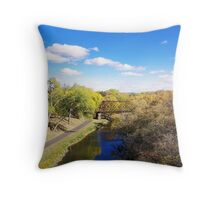 Planes, Trains and No Automobiles Throw Pillow