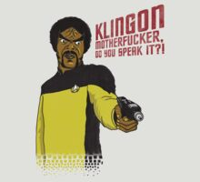 Klingon MotherF**ker Do You Speak It?! by Scott Neilson Concepts