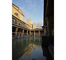 Reflections of Bath Abbey Photographic Print
