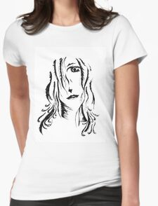 Feathered haired girl T-Shirt