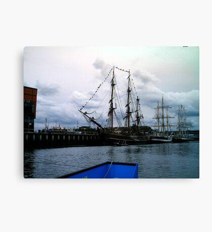 tall ship 6 Canvas Print