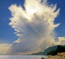 Cumulonimbus Incus Cloud Rising by Kuzeytac