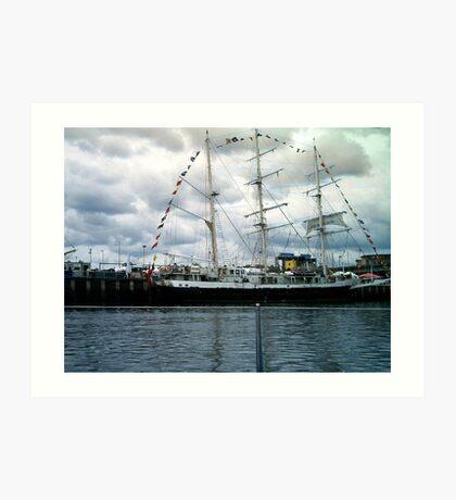 tall ship 8 Art Print
