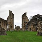 Glastonbury Abbey by Victoria  Eastwood