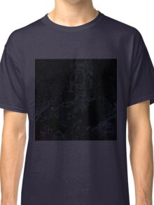 Uneven developed Church in blue and black Classic T-Shirt