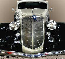 1934 Buick 2 Door Sedan-2 by Carla Jensen