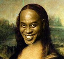 Ainsley Harriott - Mona Lisa by Lutubert
