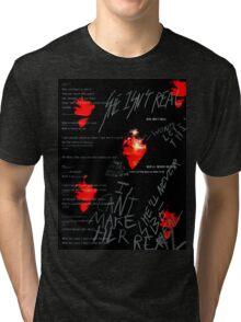 Red Vermillion  Tri-blend T-Shirt