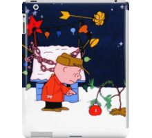 snoopy christmas iPad Case/Skin