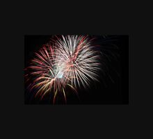 Fireworks display on a black sky Unisex T-Shirt