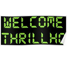 Welcome Thrillho  Poster