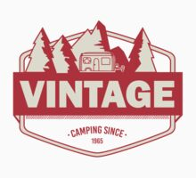 Vintage camping since 1965 - red One Piece - Long Sleeve