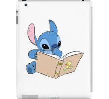 STITCH READING iPad Case/Skin