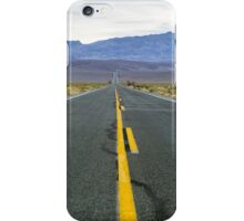 Highway 190 Death Valley California  iPhone Case/Skin