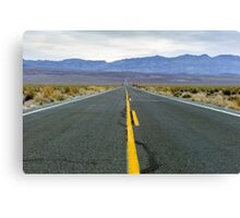 Highway 190 Death Valley California  Canvas Print