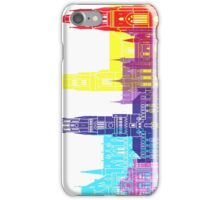 Bruges skyline pop iPhone Case/Skin
