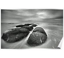 Hunstanton Rocks Poster