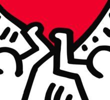 Keith Haring Love Sticker