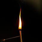 Flame by Simon Pattinson