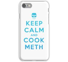 Keep Calm and Cook Meth iPhone Case/Skin