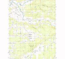 USGS Topo Map Washington State WA Jackson Prairie 241685 1985 24000 by wetdryvac