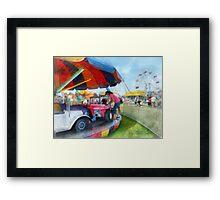 Car Ride at the Fair Framed Print
