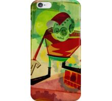 bad robot iPhone Case/Skin