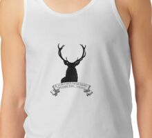 """If you can't beat God.."" - Will Graham / Hannibal PINK Tank Top"