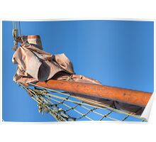Boat bow pole Poster