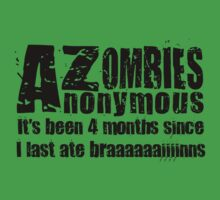 Zombies Anonymous Kids Clothes