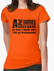 Zombies Anonymous Womens Fitted T-Shirt