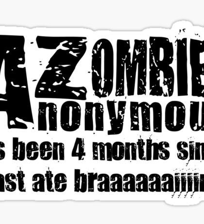 Zombies Anonymous Sticker