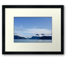 Alaska, Yakutat Bay and Hubbard Glacier  Framed Print