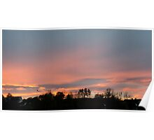 Best Sunset - Ice Crystals Poster
