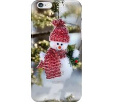 Christmas Snowman iphone case  iPhone Case/Skin