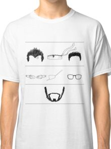 The Beard Remains the Same (WITHOUT TEXT) Classic T-Shirt