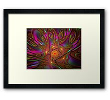 One with the Cosmos Framed Print