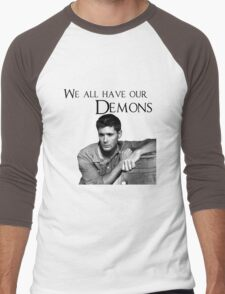 We all have our demons - Dean Winchester Men's Baseball ¾ T-Shirt