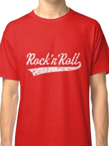 Rock 'n' Roll Vintage (White) Classic T-Shirt