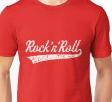 Rock 'n' Roll Vintage (White) Unisex T-Shirt