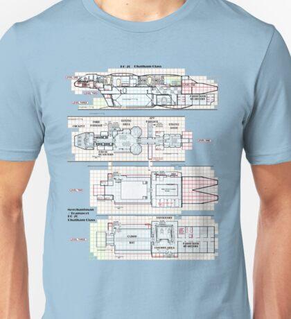 Firefly Serenity Chatham Class Unisex T-Shirt