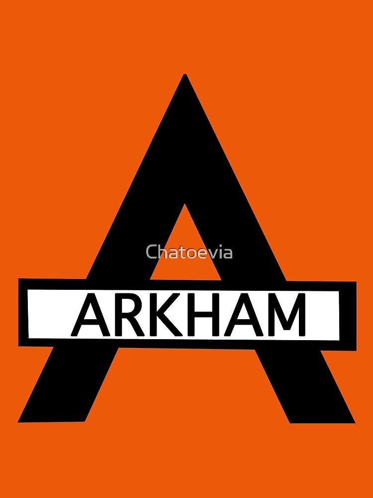 Batman : Arkham Asylum by Chatoevia