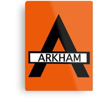 Batman : Arkham Asylum Metal Print