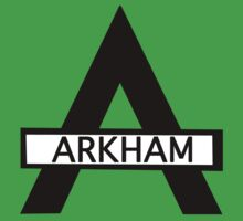 Batman : Arkham Asylum Baby Tee