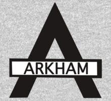 Batman : Arkham Asylum Kids Tee