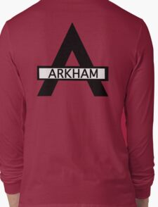Batman : Arkham Asylum Long Sleeve T-Shirt